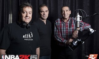 Los comentarios en español de NBA 2K15 cuentan con 38 horas de grabación adicionales