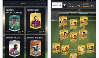 La aplicación de EA Sports para iOS, Android y Windows Phone se actualiza para FIFA 15