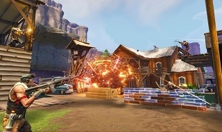 Echa a andar la alpha de Fortnite
