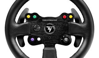TM Leather 28 GT Wheel, nuevo volante de Thrustmaster