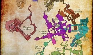 El mapa completo de Bloodborne
