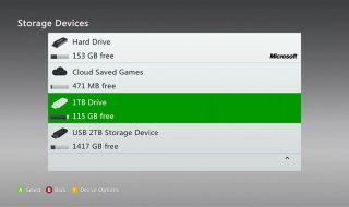 Xbox 360 tendrá soporte para discos duros externos de 2TB