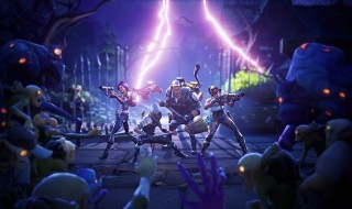 Otro gameplay de Fortnite