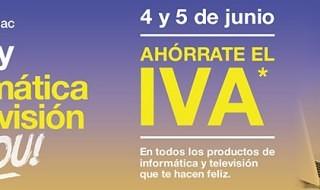 4 y 5 de junio, días sin IVA en Fnac para informática y televisión