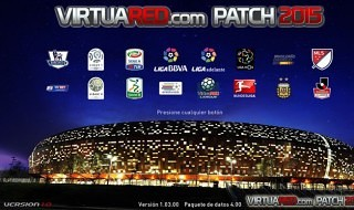 Ya disponible el VirtuaRED Patch 2015 para el PES 2015 de PC