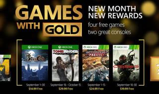 Tomb Raider y Crysis 3 entre los Games with Gold de septiembre