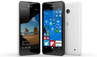 El Lumia 550 llega a España