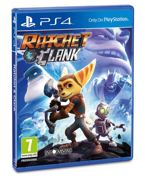 Portada Ratchet & Clank