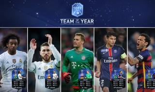 La mejor defensa y portero del año en FIFA Ultimate Team