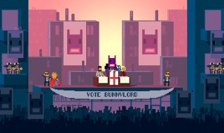 Not a Hero se lanzará en PS4 el 2 de febrero