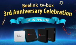 Beelink celebra su tercer aniversario con grandes descuentos