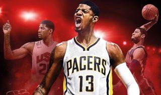 Paul George, portada de la edición americana de NBA 2K17