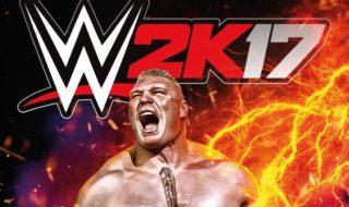 Brock Lesnar será el protagonista de la portada de WWE 2K17