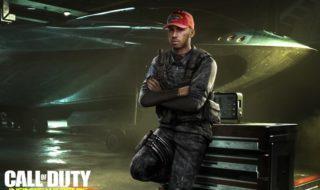 Lewis Hamilton hará un cameo en Call of Duty: Infinite Warfare