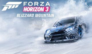 Blizzard Mountain, la primera expansión para Forza Horizon 3, llegará el 13 de diciembre