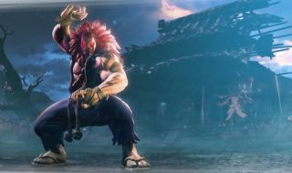 Así luce Akuma en Street Fighter V