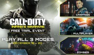 Este fin de semana podremos jugar gratis a Call of Duty: Infinite Warfare