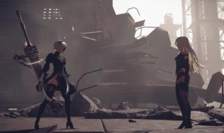 Media hora de gameplay de NieR: Automata