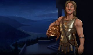 Alejandro Magno dirige Macedonia en Civilization VI