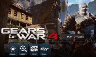 Hoy se lanza la actualización de mayo de Gears of War 4