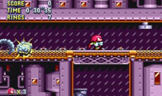 Así luce Flying Battery Zone en Sonic Mania