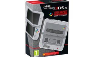 Habrá una edición de New Nintendo 3DS XL inspirada en la SNES