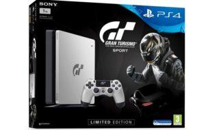 Habrá una edición limitada de PS4 inspirada en Gran Turismo Sport