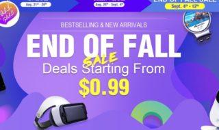 Últimas rebajas de temporada en Geekbuying a precios locos
