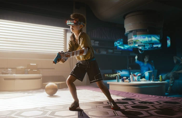Mensaje secreto de CD Projekt en el gameplay de Cyberpunk 2077
