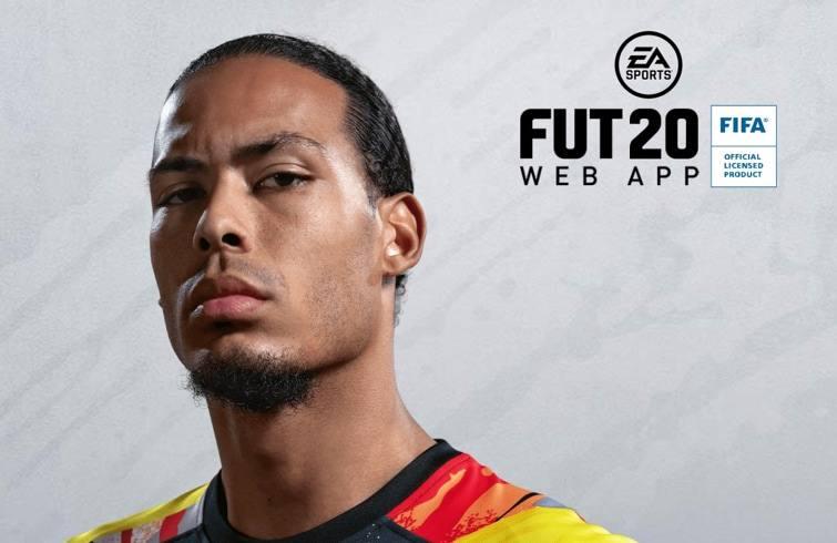 FUT 20 FIFA web app