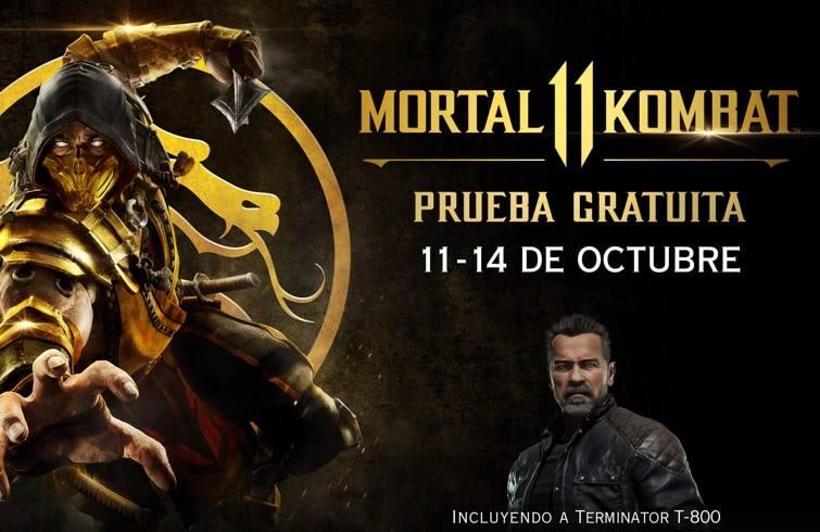 Mortal Kombat 11 gratis