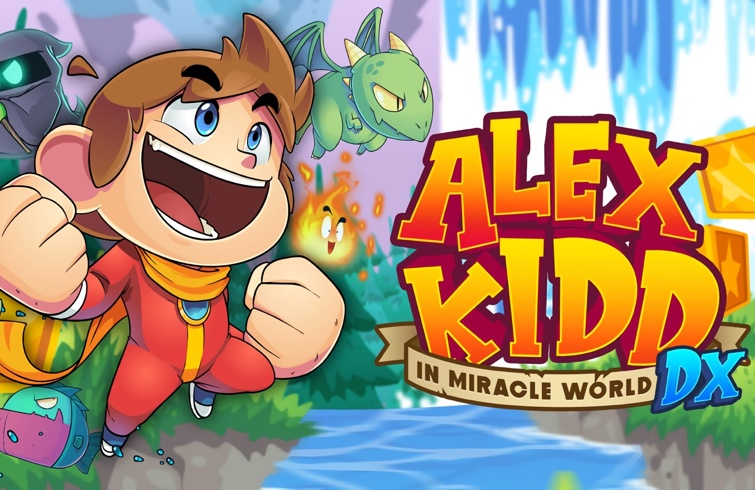 Alex Kid in Miracle World DX