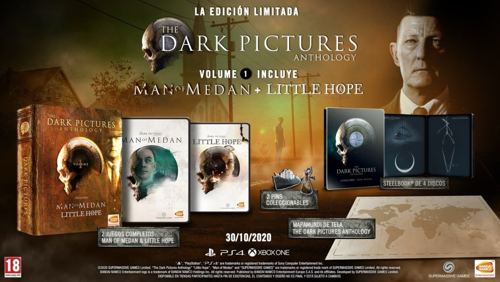 The Dark Pictures: Little Hope - Edición limitada