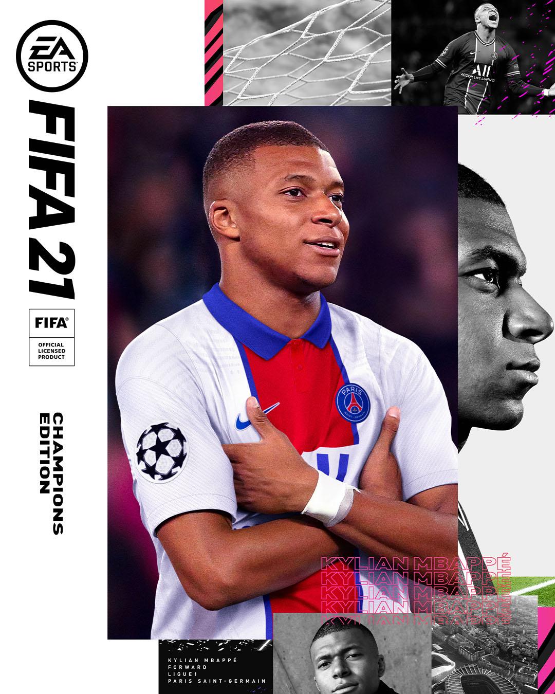 FIFA 21 - Portada Champions Edition
