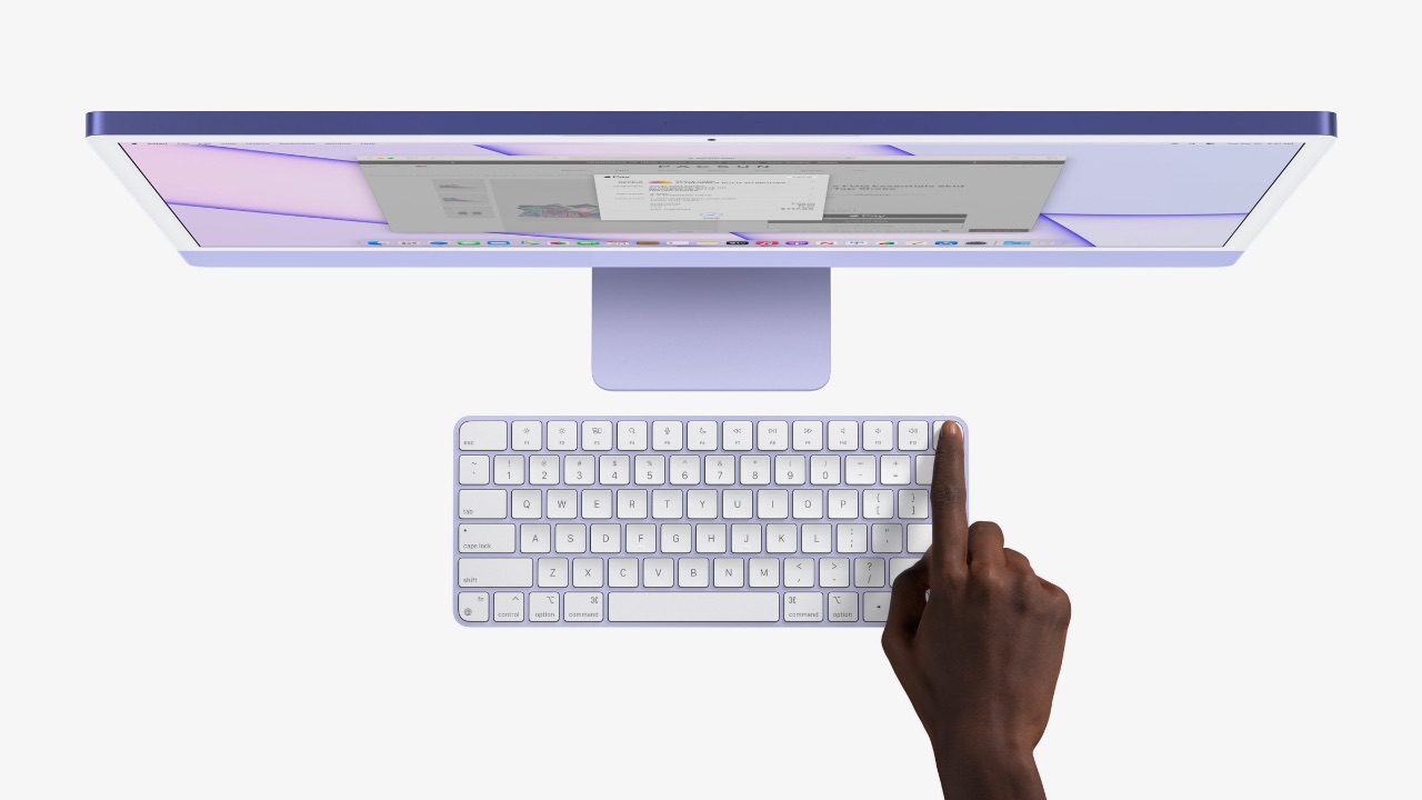 iMac 2021 - Morado