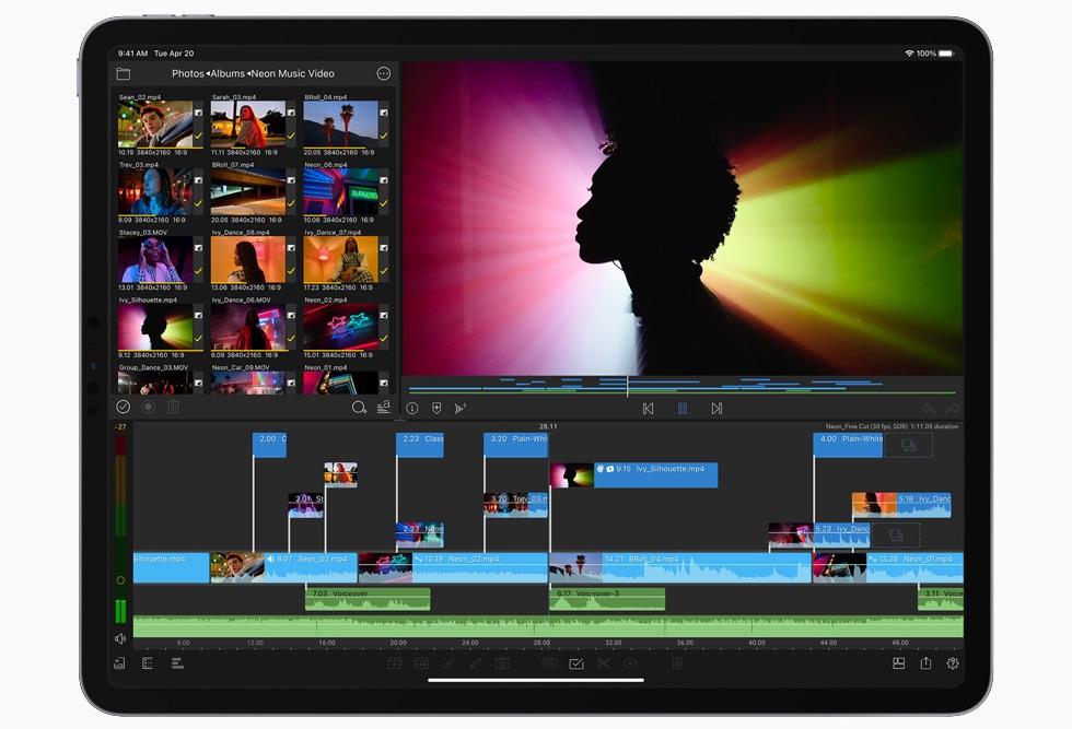 iPad Pro 2021 - Frontal