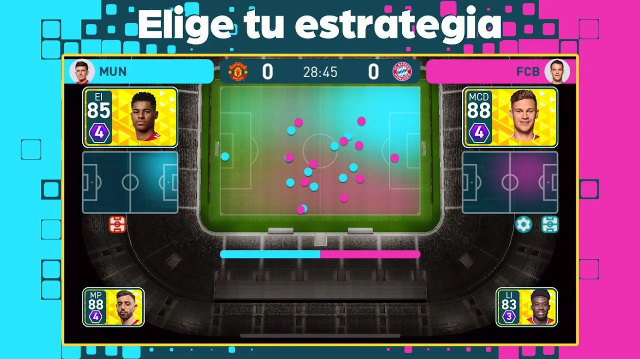 Pitch Clash - Estrategia