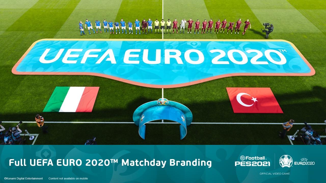 PES 2021 - UEFA Euro 2020