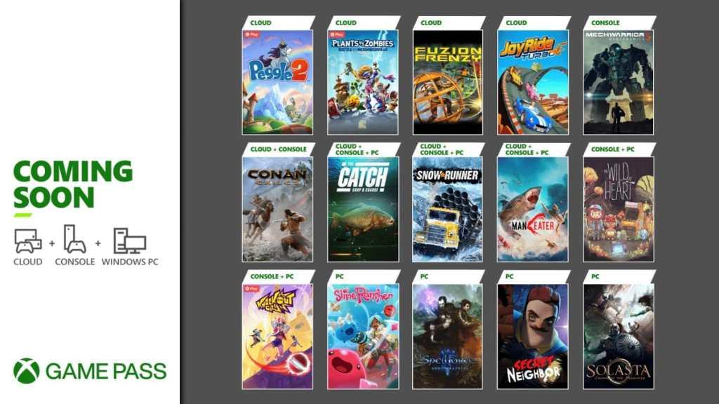 Xbox Game Pass - Mayo 2021