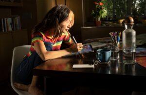 Dibujando en el iPad Pro