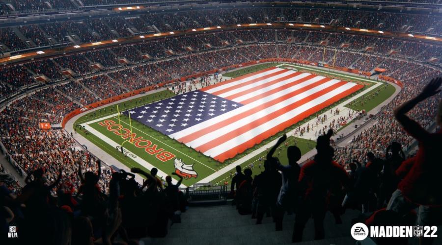 Madden NFL 22 - Estadio