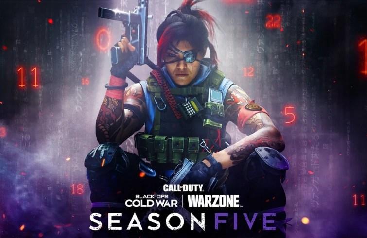 call of duty warzone black ops cold war - temporada cinco