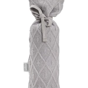 Jollein Kruikenzak Diamond Knit grey