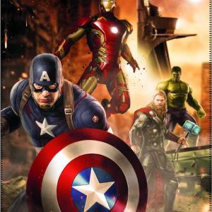 Avengers Fleece Plaid America