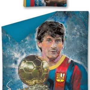Dekbedovertrek Voetballer Messi Portrait