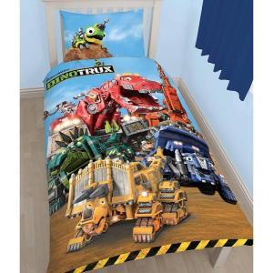 Kinderdekbedovertrek Dinotrux Mechanix