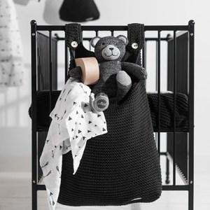 Jollein Boxopbergzak Heavy knit black