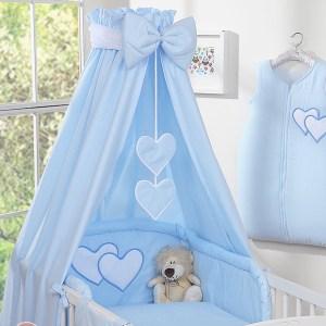 My Sweet Baby Hemel Katoen Blauw