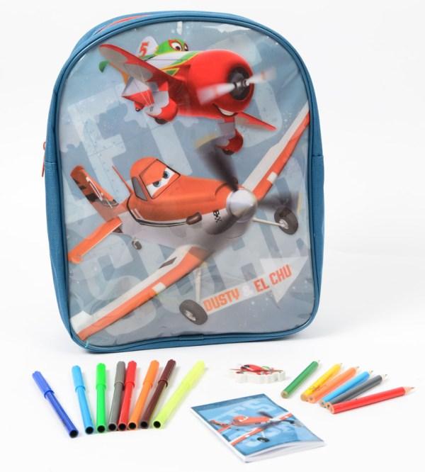 Planes Rugzak met inhoud Schoolspullen