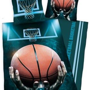 Dekbedovertrek Basketbal 140x200cm